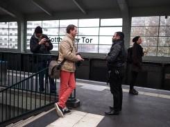 Chatting at Kottbusser Tor