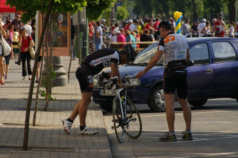 Planificarea strategiei - Cupa Aradului la ciclism, 12.05.2012