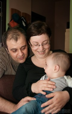 Sedinta foto familie - Radu