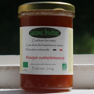 Confiture mangue pamplemousse