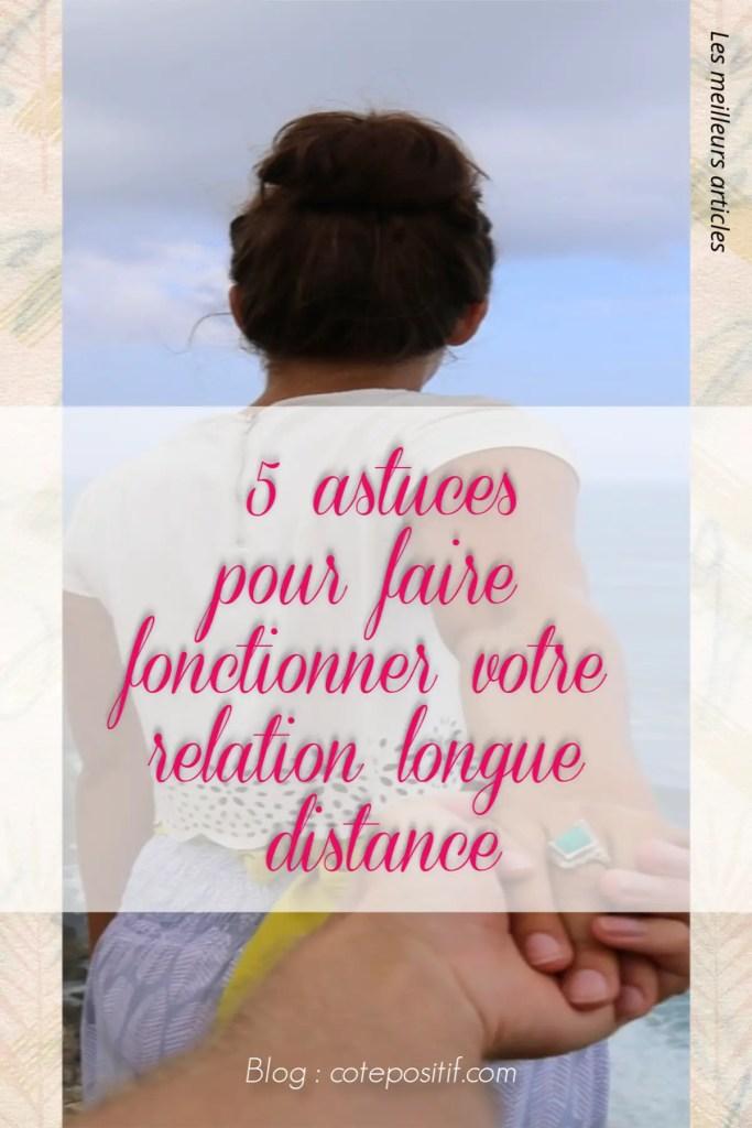 5 astuces pour faire fonctionner une relation longue distance