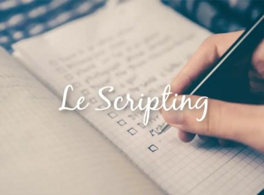 Le scripting (écrire pour manifester par le loi d'attraction)