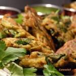 Rostis de légumes à l'indienne