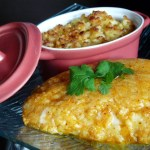 Filet de lieu en croûte de parmesan & piment Espelette
