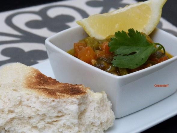 Salade poivrons et tomates (Algérie)