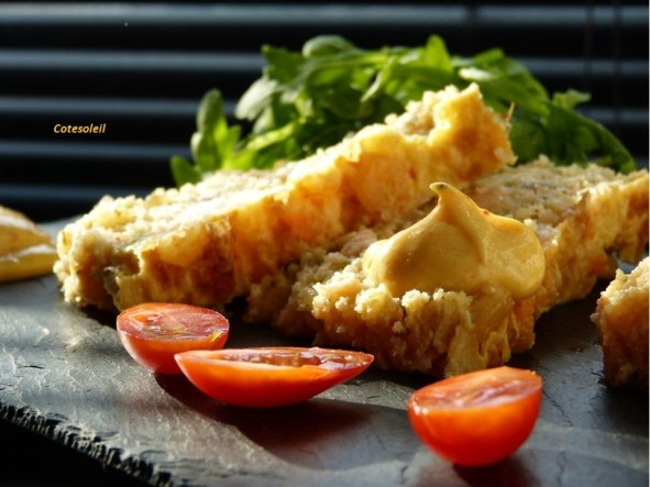 Terrine crevettes & saumon