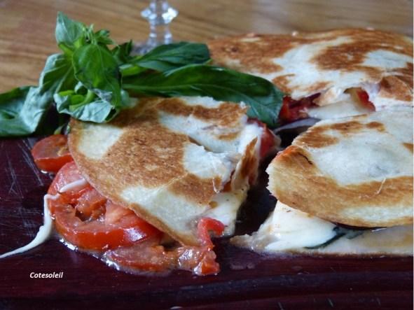 Tortillas à la mozzarella