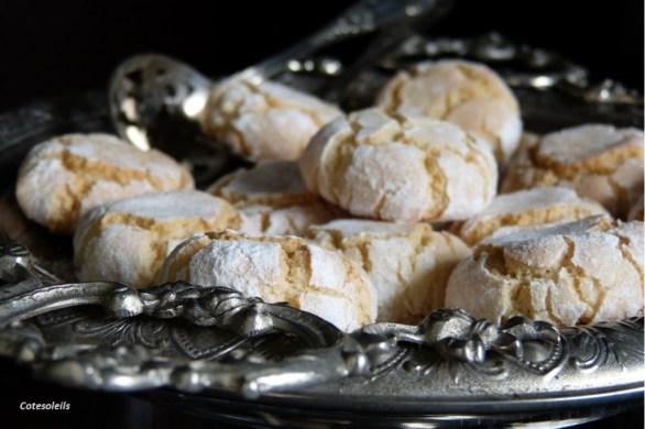 Macarons croquants coeurs moelleux