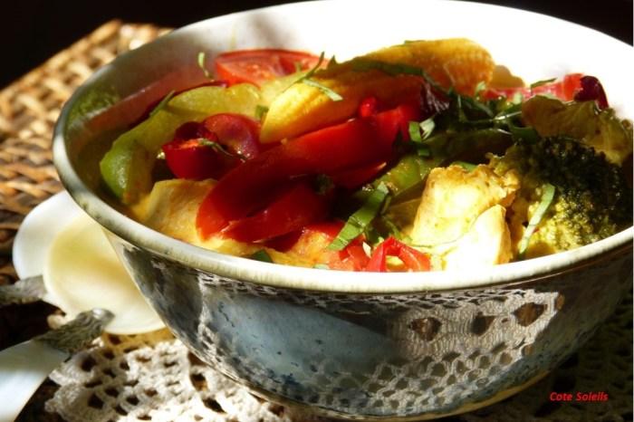 Curry jaune de poulet