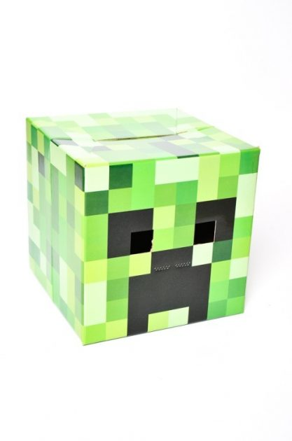 Careta Minecraft Creeper