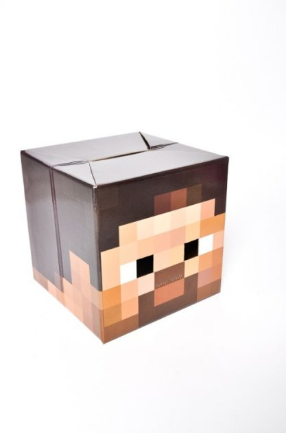 Careta Minecraft Steve