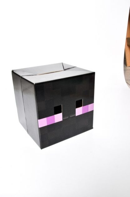 Careta Minecraft Enderman