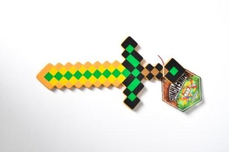 Espada Chica Oro Minecraft