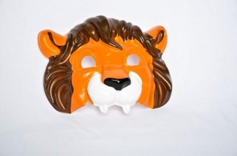 Careta plastica leon
