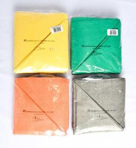 Servilletas de colores