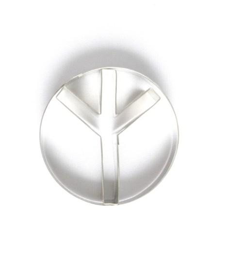 Cortante simbolo Paz