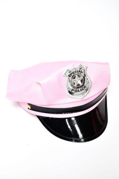 Gorro Policia Rosa