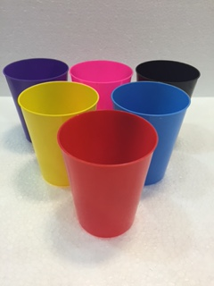 Vasos plastico flexible