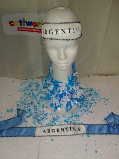 Vincha cinta de Argentina