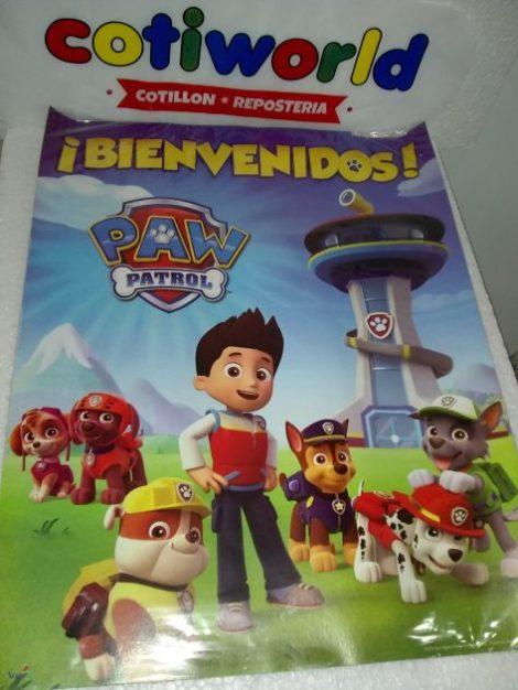 Afiche Paw Patrol