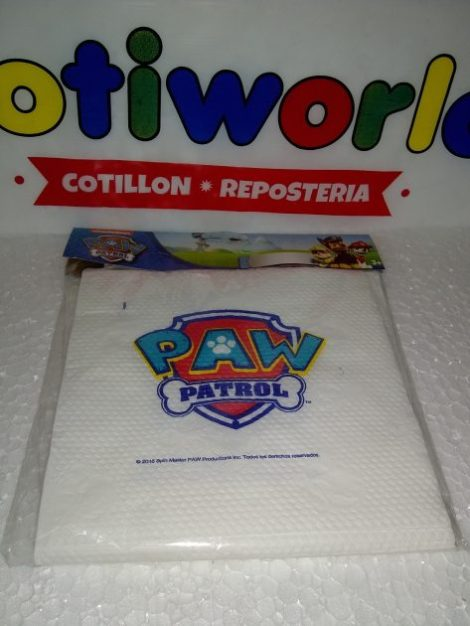 Servilletas Paw Patrol x12unid.