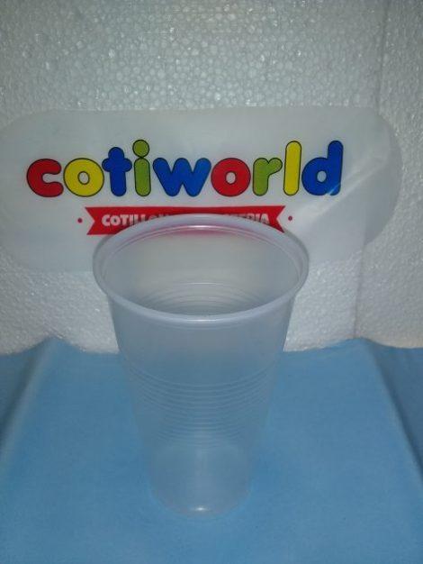 Vasos de plastico medio litro