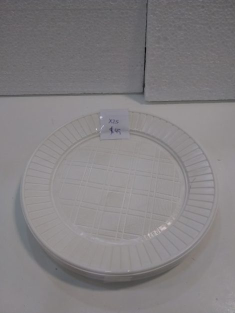 Platos comida de plastico