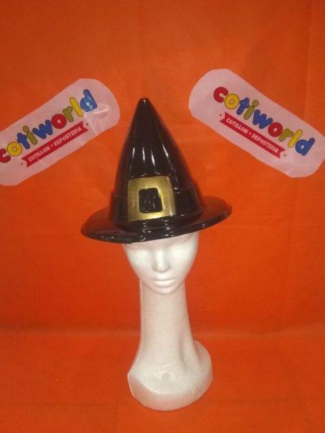 Sombrero de bruja plastico
