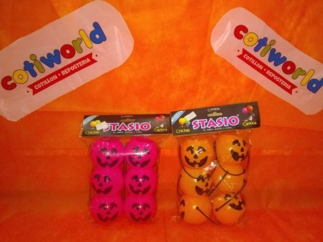 Mini calabazas para souvenirs x 6 unidades