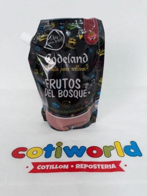Pasta para relleno Codeland sabor: Frutos del Bosque