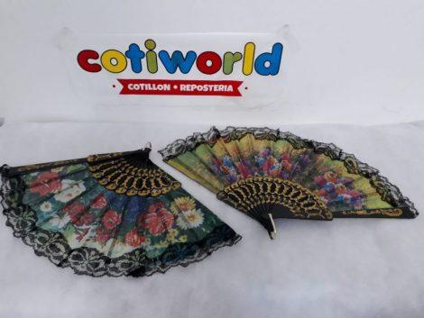 Abanicos con encaje de Dama Antigua