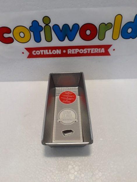 """Molde de budin aluminio N: 4 """" Doña Clara"""" (27x11cm)"""