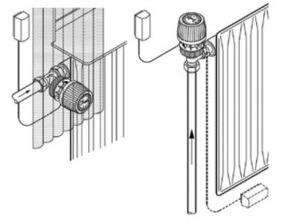 Терморегулятор с капиллярной трубкой