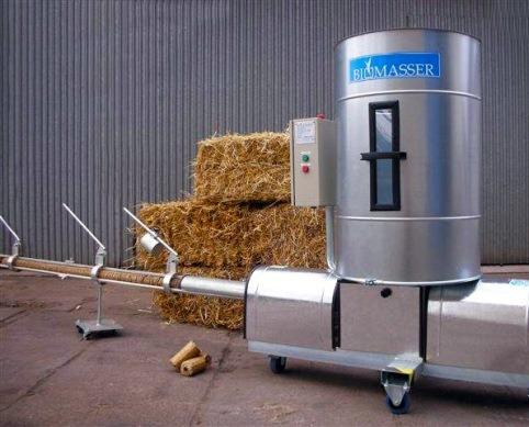 оборудование для изготовления брикетов из соломы