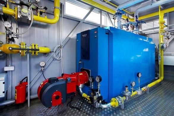 газовый теплогенератор для промышленных помещений