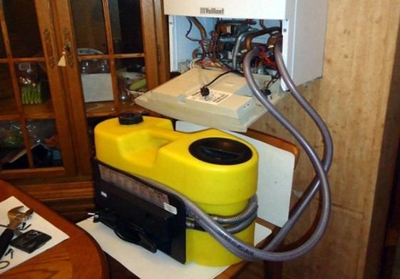 промывка теплогенератора