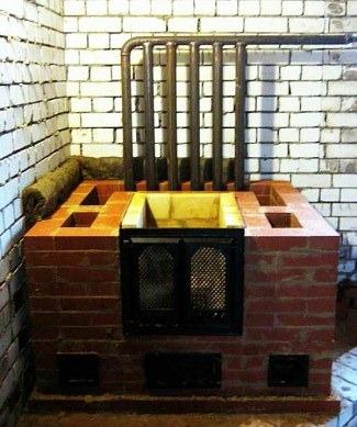 водяная система отопления, работающая от теплообменника