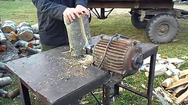 электрический инструмент для рубки дров