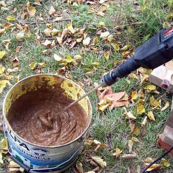 компоненты кладочного раствора из глины