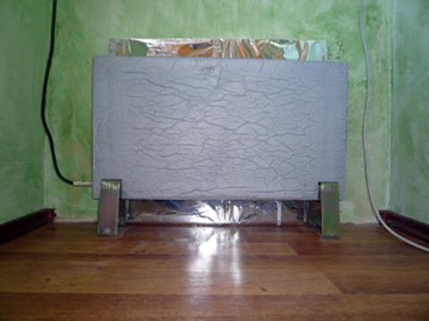 кварцевая нагревательная панель