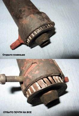 дожигатель для регулировки подачи воздуха