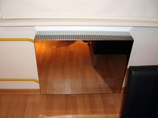 экран для радиаторов из нержавеющей стали