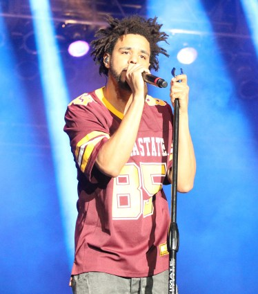 J. Cole at Summer Ends Music Festival in Tempe, AZ in September 2015. (Photo by James White)