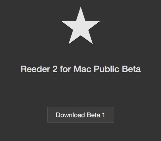 Reeder 2 for Mac