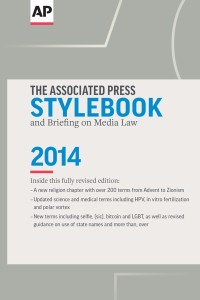 AP Stylebook 2014