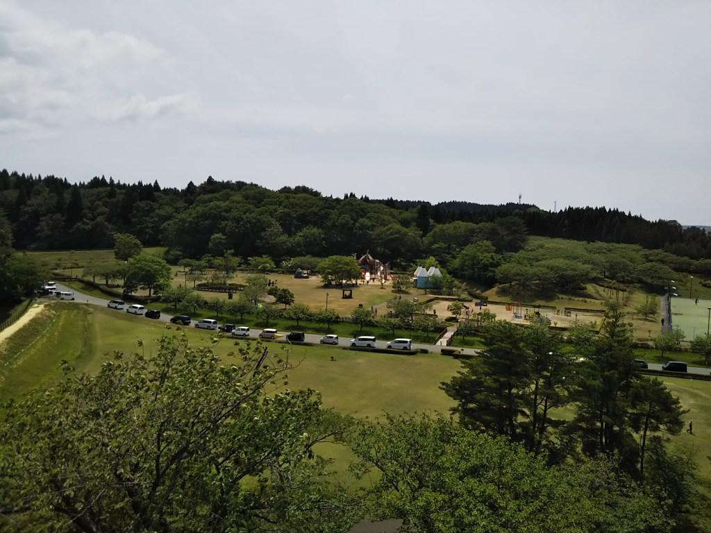 日本国花苑バラ園