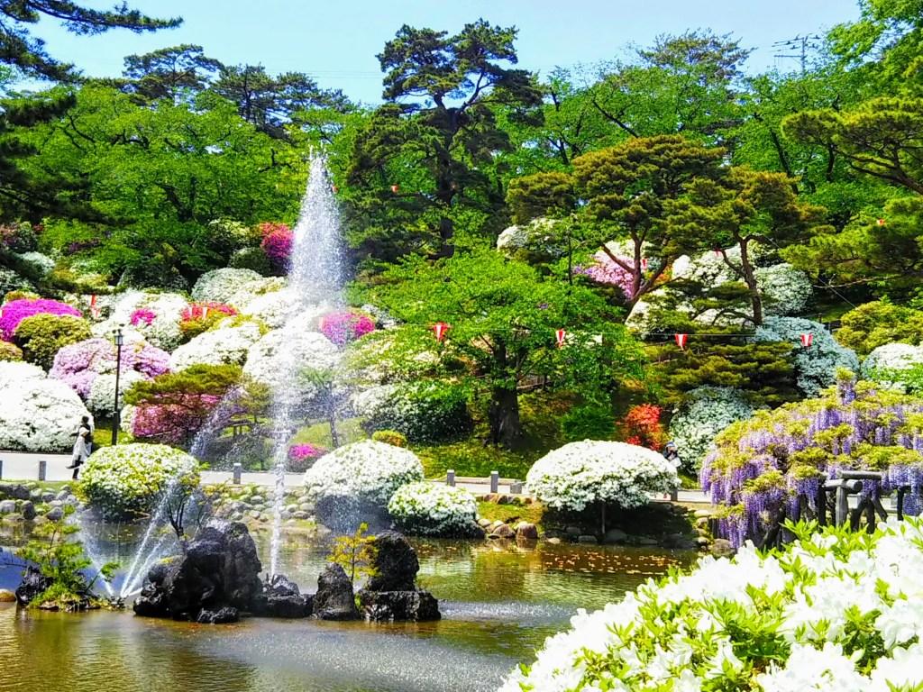 千秋公園噴水