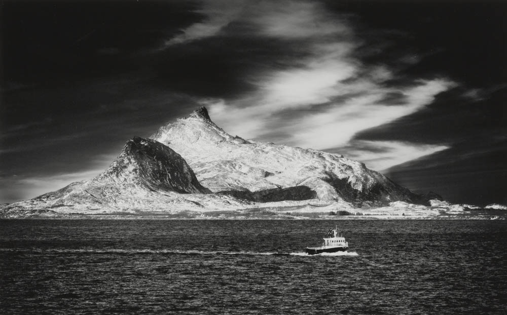 Fishing Boat on the Artic Circle