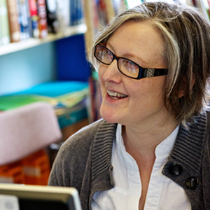 Mrs Williams, School Librarian