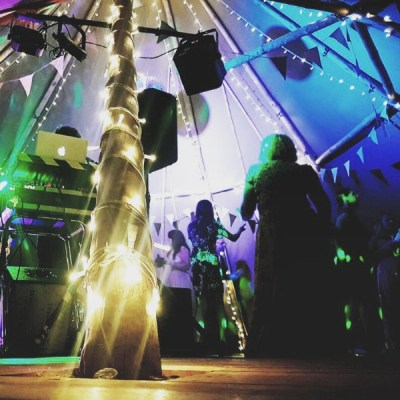 Cotswold Tipis Corporate Events Party Dancefloor